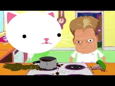 Cat Face : Hells Kitchen