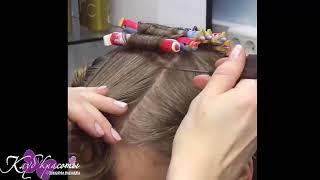 Биозавивка Волос блондинке завивка волос на блонд салон киев как делать биозавивку биозавивка Mossa
