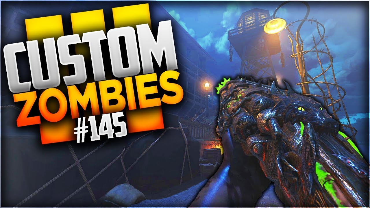 MOB OF THE DEAD REMASTRISE  CUSTOM MAP ZOMBIES 145  YouTube