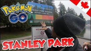 É SEGURO JOGAR NO PARQUE DE VANCOUVER? -  Pokémon Go | Em Busca dos Melhores (Parte 103)