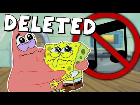Spongebob's DELETED Songs That Never Made it into the Show