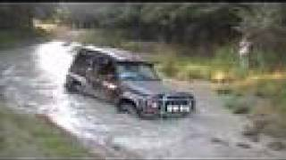 Drowning the Nissan Patrol GR