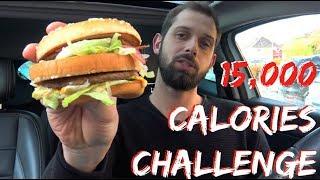 15,000 CALORIES CHALLENGE (FRANCE)