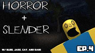 ROBLOX Gameplay w/ Blog, Jake, Cat & Dani - SLENDERMAN