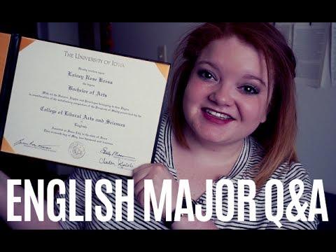 ENGLISH MAJOR Q&A