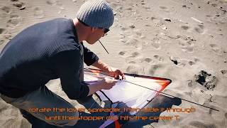 How to assemble a Level One dual line kite