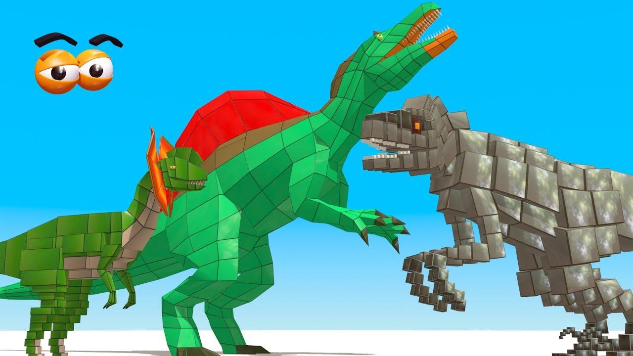 cube builder for kids hd build predator dinosaurs for children