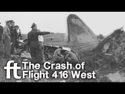 The Crash of Flight 416 West - A Forgotten Tale of Turnbull Canyon
