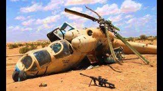 Подборка Разбитых Военных Вертолетов
