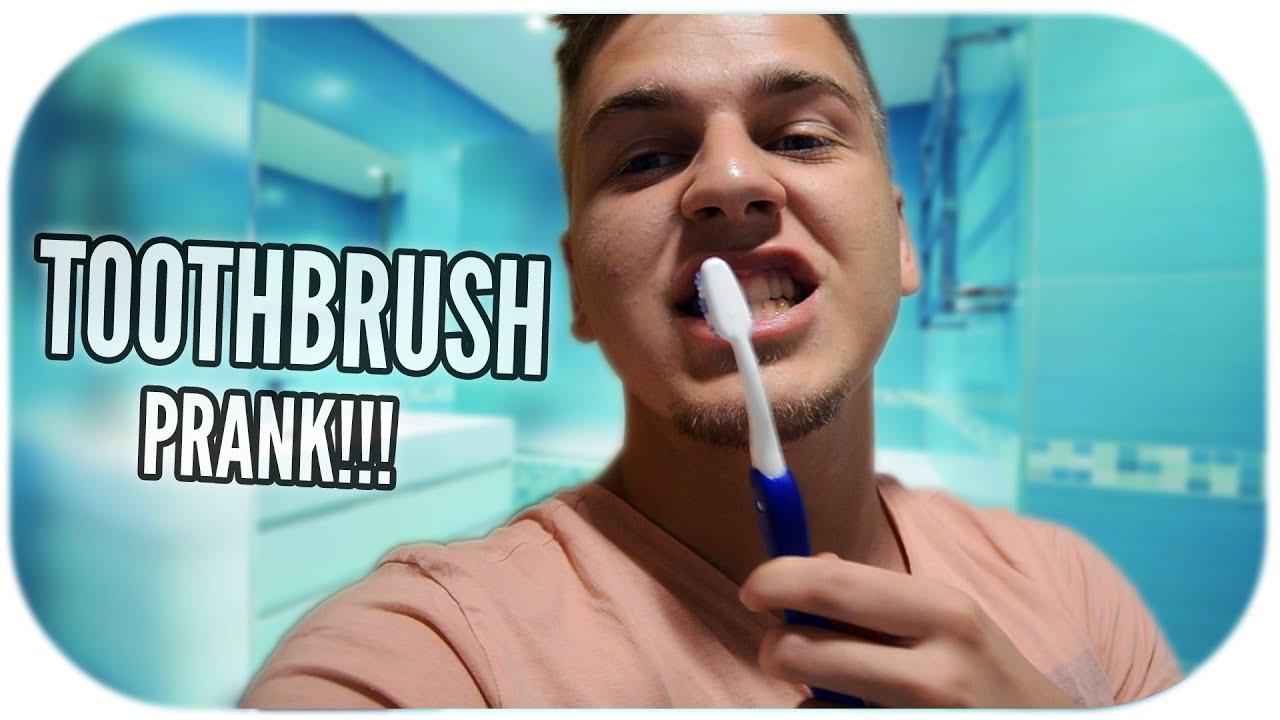 TOOTHBRUSH PRANK!!!