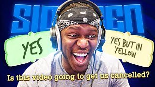 ANOTHER QUESTIONABLE QUIPLASH (Sidemen Gaming)