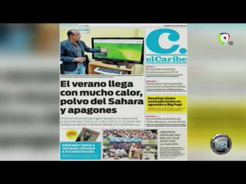 En Hoy Mismo Lectura De Los Principales Periódicos Del País