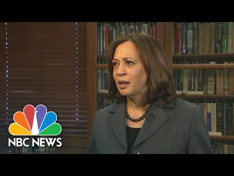 Kamala Harris Says Health Care Should Be A Right | NBC News