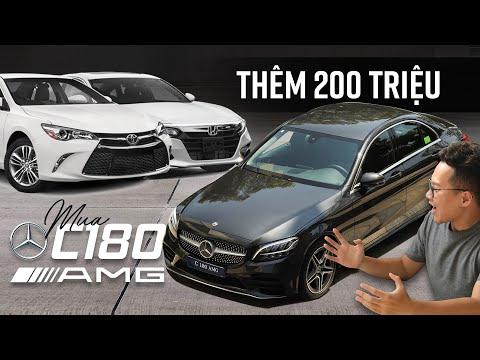 Chọn Camry, Accord hay thêm 200 triệu lấy Mercedes-Benz C180 AMG 2021?