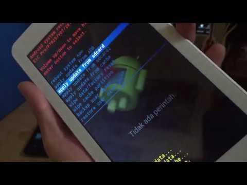 Cara Perbaiki Tablet Advan LCD bergaris.