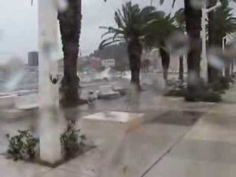 2013: lebićada u Splitu/2013 storm in Split, Croatia