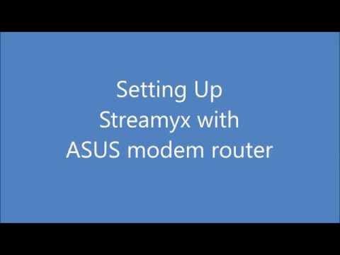 ASUS modem router ~ Streamyx Quick Internet Setup