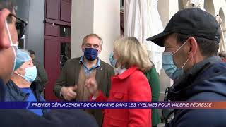 Yvelines | Premier déplacement de campagne dans les Yvelines pour Valérie Pécresse