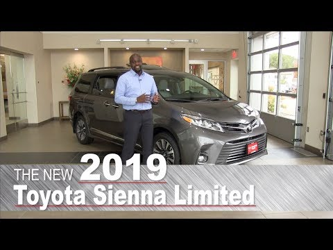 New 2019 Toyota Sienna Limited | Mpls, St Paul, Brooklyn Center, Coon Rapids, MN | Review