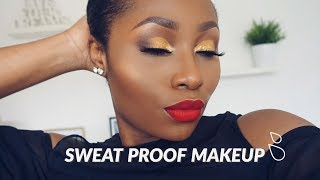 SWEAT PROOF, HEAT PROOF, LONG LASTING MAKEUP FOR HOT WEATHER | DIMMA UMEH