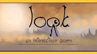 Look | ONE LAST LOOK | An Interactive Poem, Indie Gameplay w/ facecam