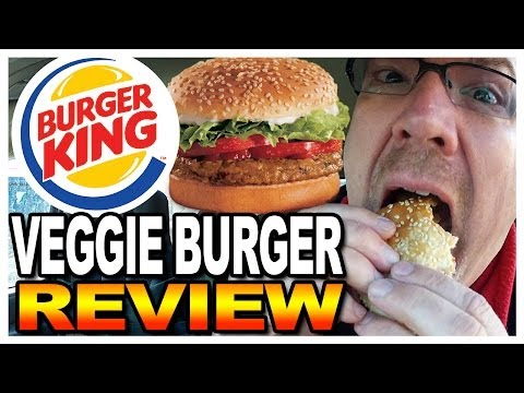 Burger King BK VEGGIE® Burger Combo Meal Review