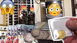 Buying GOLD & Silver In Secret DC Bunker Coin Shop! Capital Coins!