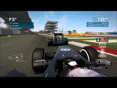 F1 2013 : India New Delhi 100% Round 5 - Online mode [AF1Team]