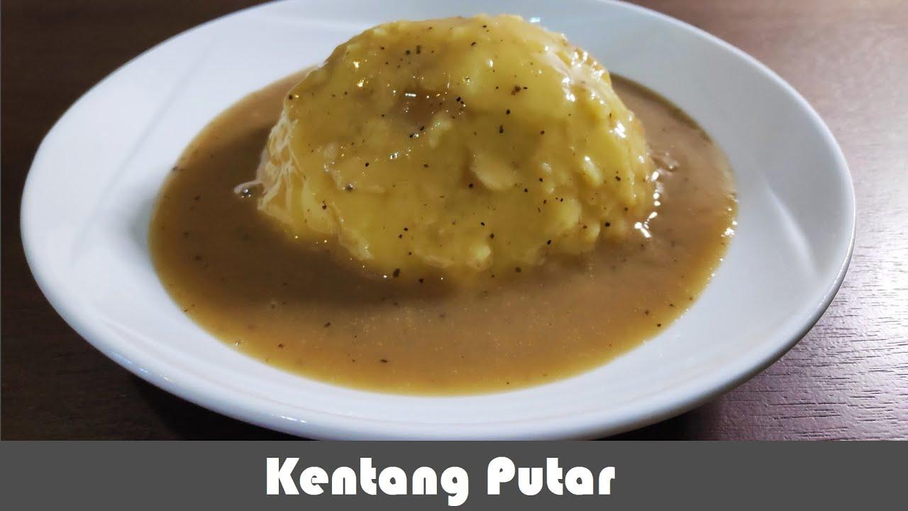 Kentang Putar Resepi Mudah Simple Mashed Potato Recipe Youtube