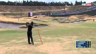 2015 U.S. Open- TIGER WOODS TOPS 3 WOOD (protracer)