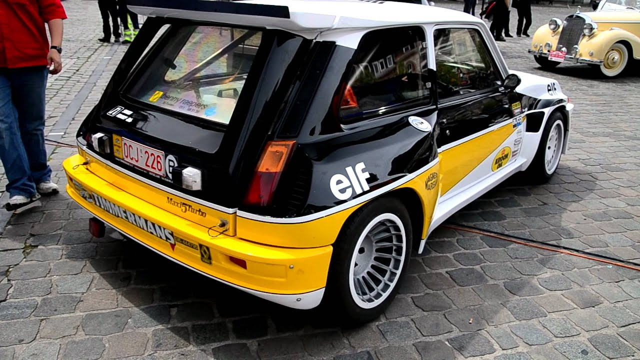 custom renault 5 turbo sound youtube. Black Bedroom Furniture Sets. Home Design Ideas
