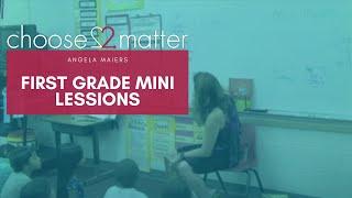 1st Grade Mini Lesson