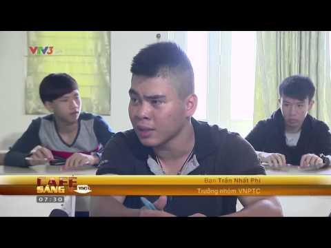 [Cafe sáng vtv3 HD] - Chơi nhạc bằng bút bi - 21/08/2012