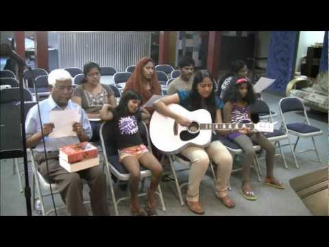 CFC Denver Telugu Mini Worship 1 Led By Sis Blessie