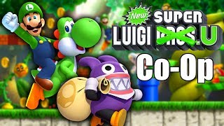 🔴[LIVE] New Super Luigi U CO-OP PLAY! [New Super Mario Bros. U Deluxe]
