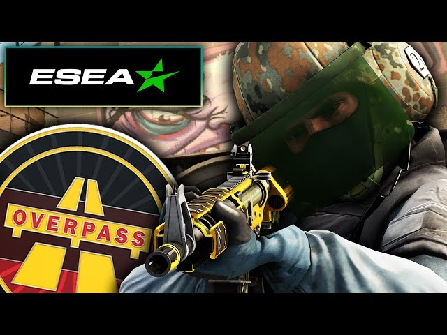 ROAD TO RANK S | OVERPASS 🚊 | ¡COMEBACK Y CARRY ABSOLUTO!  | ESEA✅