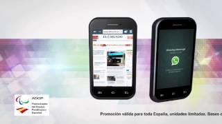 """Smartphone Dual Core 3,5"""" con el MUNDO"""