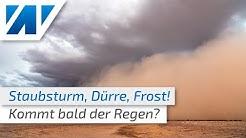 Turbulentes Aprilwetter: Sturmböen, Frost, Dürre und Sandsturm! Besteht wirklich Hoffnung auf Regen?