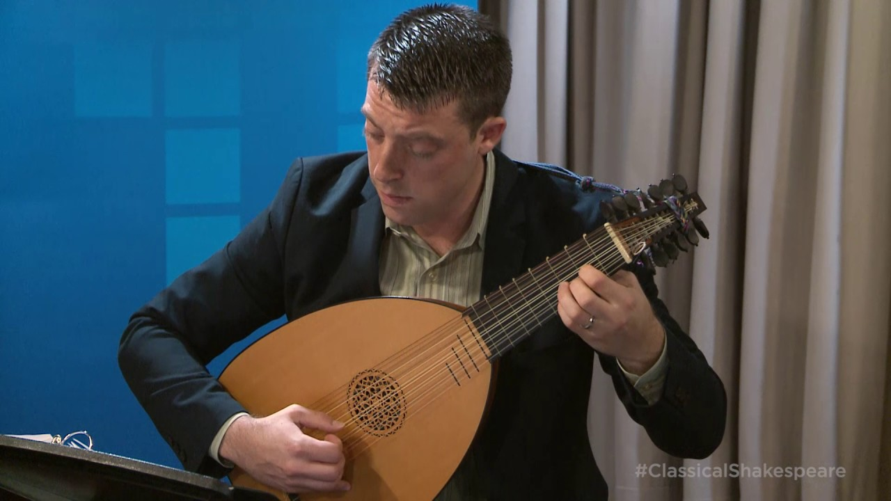 Adam Cockerham Plays John Dowland's 'Tarleton's Jigg' and 'Tarleton's Resurrection' on the Lute