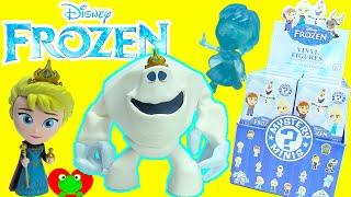 Disney Frozen Mystery Minis Vinyl Figures Funko Elsa, Anna, and Olaf