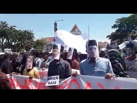 AMAH Jatim Demo Polrestabes Surabaya, Tuntut Kasus Ratna Sarumpaet Dituntaskan