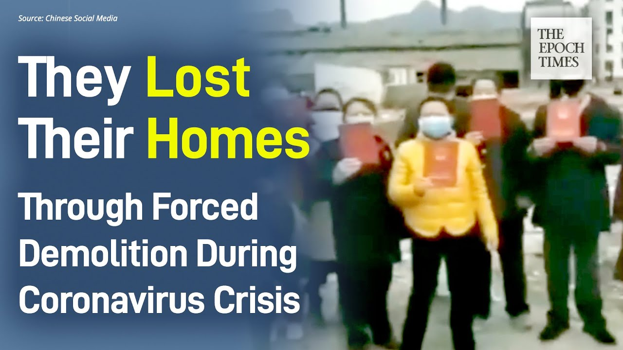 Homeowners In A Jingdezhen Neighborhood Lost Homes Through Demolition During Coronavirus Crisis