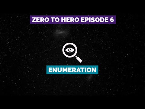 Zero To Hero Pentesting: Episode 6 - Enumeration (Kioptrix & Hack The Box)