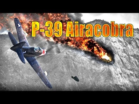 War Thunder: American P-39 Airacobra, Tier-2 / Rank-2 Review