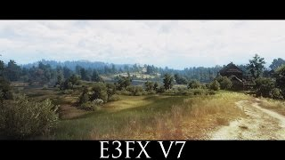 The Witcher 3 Mods - E3FX V7