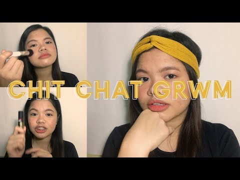 CHIT CHAT GRWM- SCHOOL, OJT + I'M GOING TO INDONESIA?
