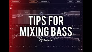 Tips for Mixing Bass