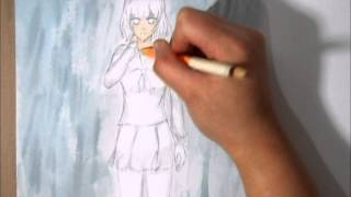 How to Draw: A Character in the Rain