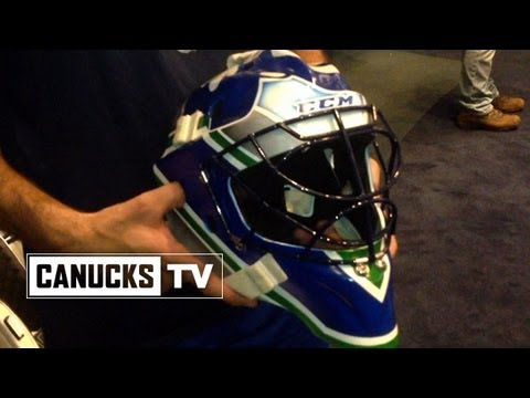 Vancouver Canucks Roberto Luongo To Debut New Goalie Mask Canada Com