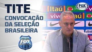 JUSTIFICOU? Tite explica critérios para convocar jogadores de Flamengo e Grêmio